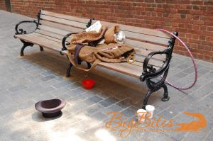 Hula-Hoop-Had-and-Dunkin-Donuts-on-Boston-Bench-color-Big-Bites-Photography.jpg